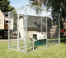 5ftx6ftx10ft Galvanized Chain Link Large Dog Run Kennel/Dog Kennel