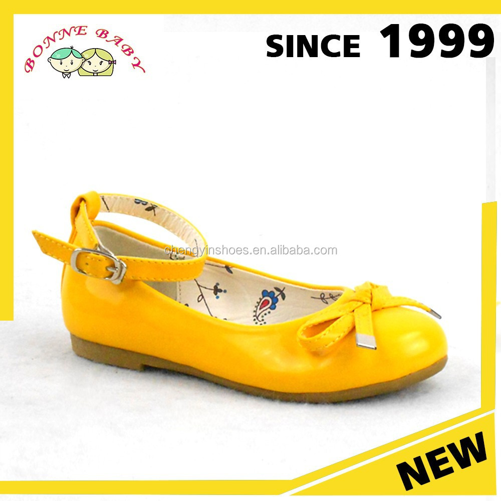 High Demand Products Yellow Fanshion Fancy Shoes For Girls 12 Years