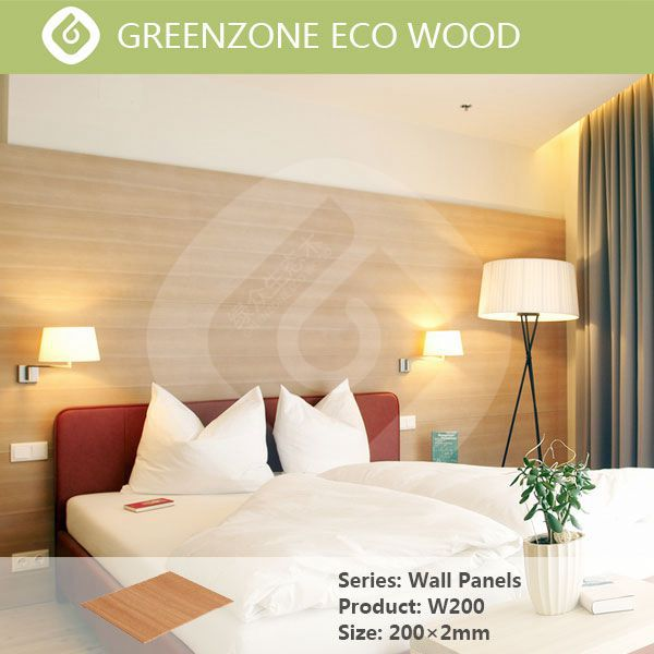 wood plastic compistewall paneling home depot from Foshan Greenzone
