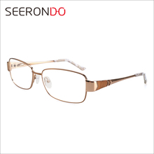 SEERONDO Hot Selling Products Ready Stocks Eyeglass Frames 2016 Optical Glasses