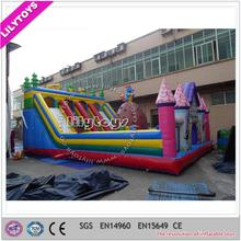 giant inflatable castle kids playground, outdoor popular themed inflatable fun city for sale, amusement park