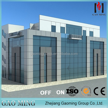Alibaba trade assurance Golden Supplier for high quality china glass curtain wall price GM-C818