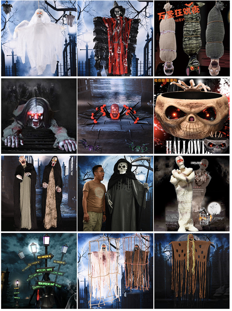 Professional Manufacturer Durable Scary Halloween Animatronics, High Quality Halloween Animatronics