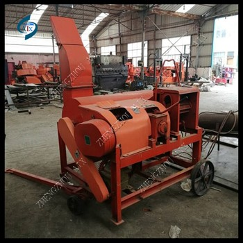 Tractor use chaff cutter and grinding machine