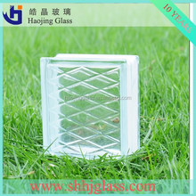 ice flower, lattice, cloud clear glass bricks glass block with high quality