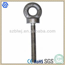 Galvanized forged eye bolts,Hot dip galvanized Eye Bolt with nut