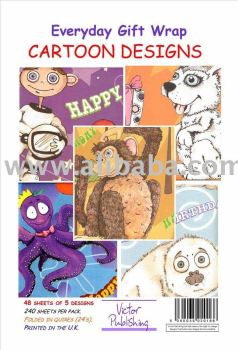 Cartoons Gift Wrapping paper