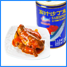 import canned sardines with good quality in Fujian province of China