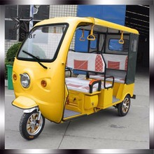 Eco-friendly Battery electric tricycle for passenger /e-rickshaw