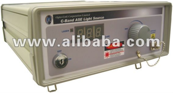 Amplified Spontaneous Emission (ASE) C-Band Light Source (Benchtop or Module)