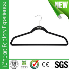 CR-AU855_velvet hanger New design tank top hangers with great price