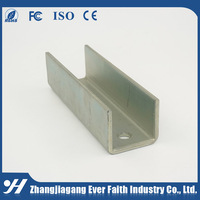 Stainless Steel Unistrut Cold Rolled Steel Structural Steel Fashion U Channel Standard Sizes