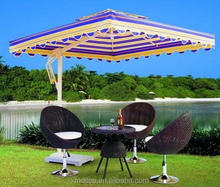 10pc MOQ square swim pool umbrella outdoor umbrella garden umbrella