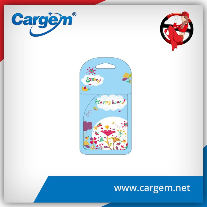 CARGEM Gift Promotional Paper Air Freshener Wholesale