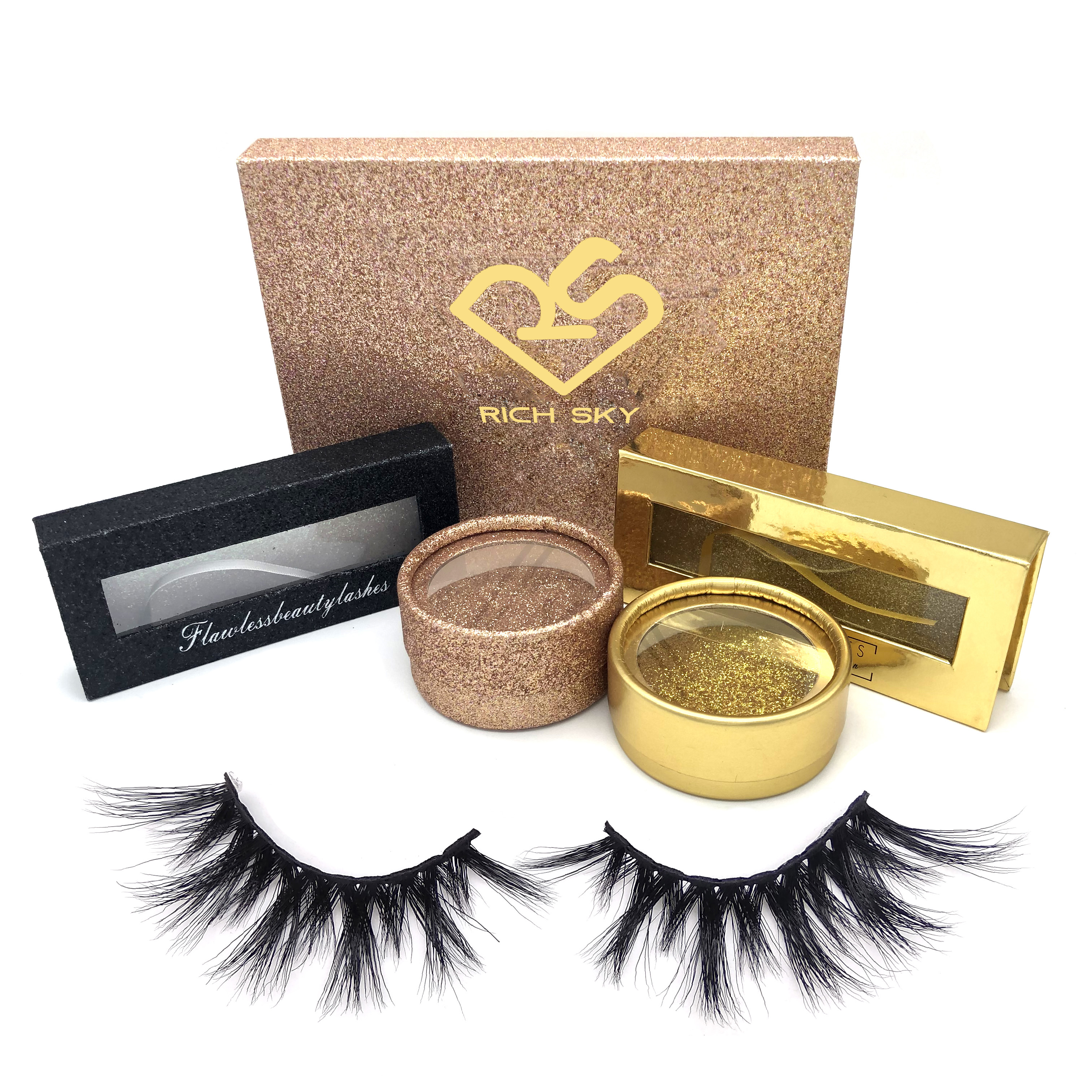Alibaba Express mink eyelashes Private Label Mink Eyelashes premium mink lashes and custom eyelash package
