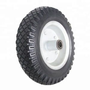 12 Inch Solid Surface Polyurethane Tire 3.00-5