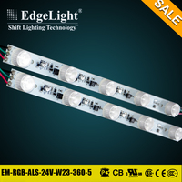 Edgelight Top selling product addressable rgb diffuse led strip light for led light box use