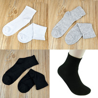 Men Solid Sock Thermal Autumn Winter Casual Sport Polyester cotton socks wholesale