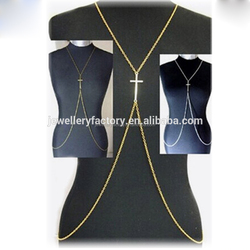 Factory Cheap Price 14K Gold Cross Body Chain