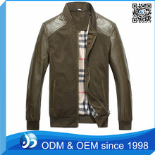 Fashion Coat Fitness Formal Goat Suede Leather Jackets