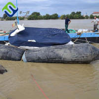 high quality fishing boat used inflatable rubber marine airbag for shipyard