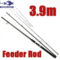 Top Quality 3.3m 3.9m Fishing Rod Telescopic Fishing Pole Carp Feeder Spinning Rod
