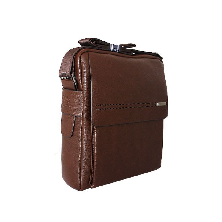 Executive Leather High Security Lock Briefcase