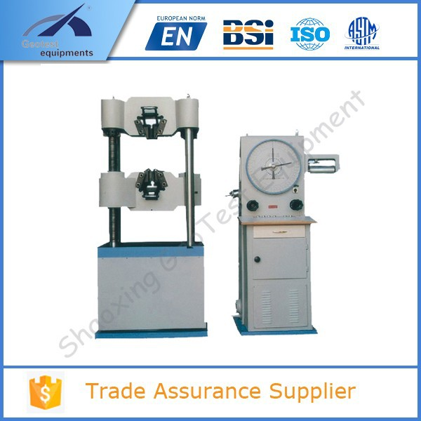 UTM-600AT 600KN Analogue Dial Gauge type Universal Tensile Testing Machine
