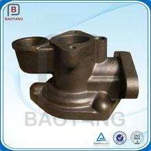 Customized spheroidal graphite cast iron casting and machining