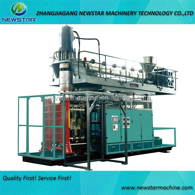 HDPE chemical drum making machine extrusion blow molding machine price
