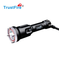 Trustfire classical led Diving Flashlight high power led flashtorch 100 Meters deepth IPX8 waterproof DF006 diving torch