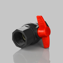 "Agricultural Irrigation System 1/2""-4"" Plastic UPVC PVC Water Ball Valve With Low Price"