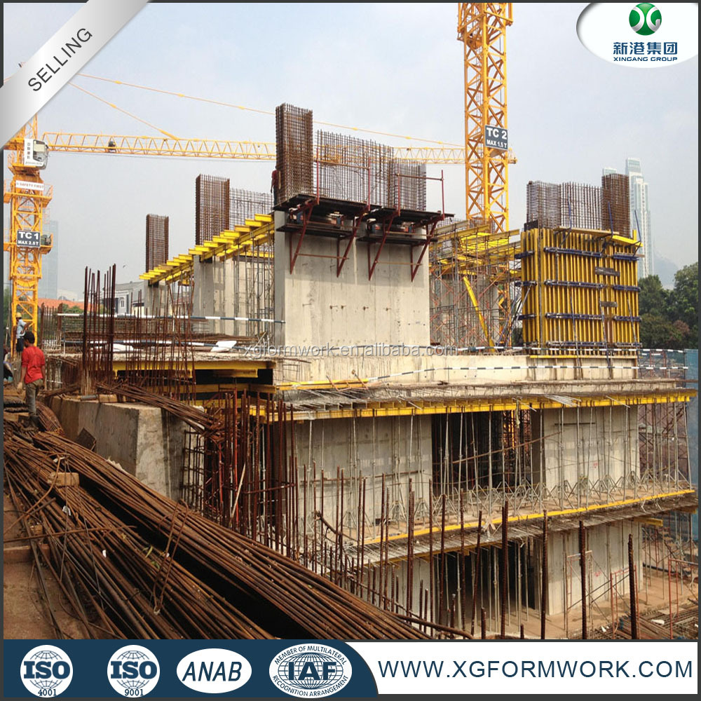 building materials cold rolled tie rod good concrete formwork system similar peri form works in formwork