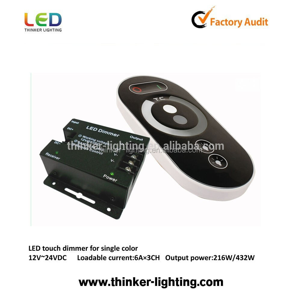 18A or 30A led dimmer 3 channel
