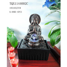 Polyresin water fountain indoor buddha fountains