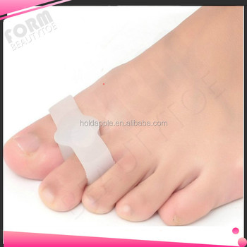 Gel Separator Bunion Soft Silicone Toe Separator Toe Straightener Small Toe HA00491