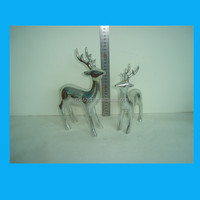 electroplate reindeer christmas party decoration christmas decoration