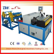 Square duct/rectangular pipe production line,China HVAC duct making machine with cheap price