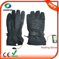 Electric heating pad battery heated gloves for winter sports