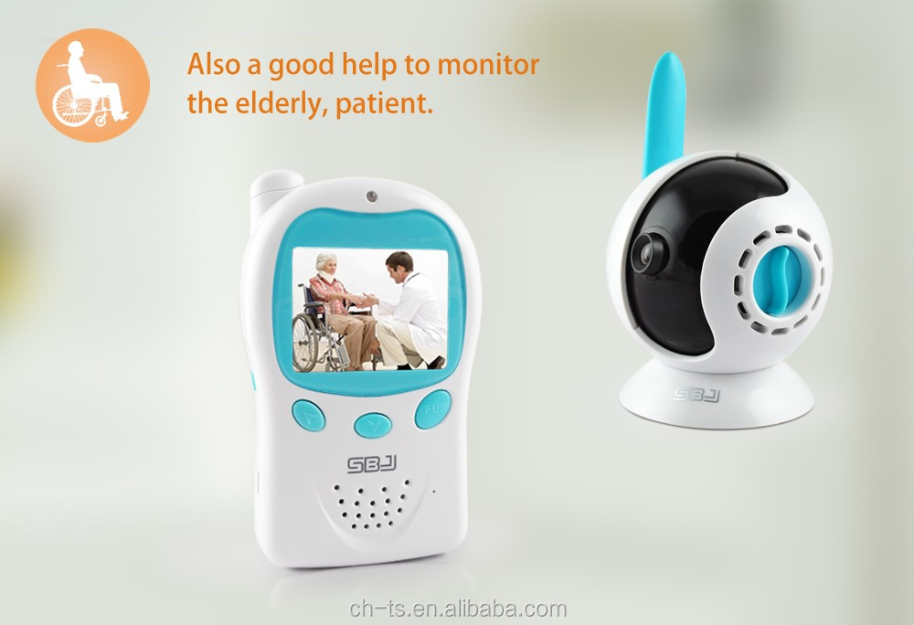 2019 new care baby phone audio video baby monitor with 2.4 inch LCD screen