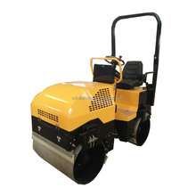 HaoHong 2 ton full hydraulic vibratory road rolle with seat
