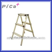 Aluminum Golden Color Step Ladder
