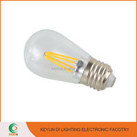 Wholesale Cheap Price 4w 6w Glass e27 Led Filament Bulb For Decoration