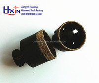 Vacuum Brazed Black Diamond core drill bits with M14 connection