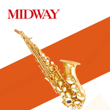 Soprano Saxophone High, can provide OEM / OBM, Chinese saxophone