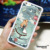New Arrive Sexy Girl Tattoo girl phone cases Alice in Wonderland Design Phone Case Hard Cover Case for iPhone 5 5S
