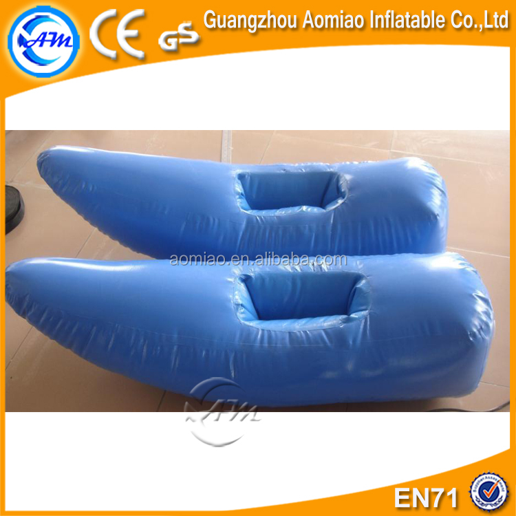 Outdoor inflatable walk on water shoes, water park supplies