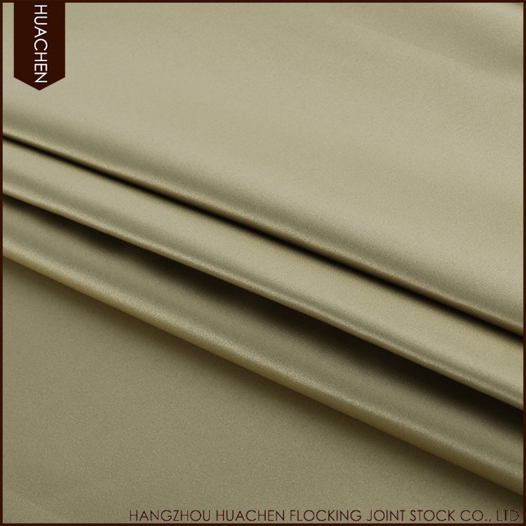 Factory directly provide high quality drapes thermal curtain fabric
