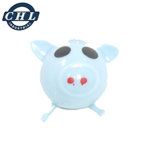 Promotional pig shape puffer ball toy