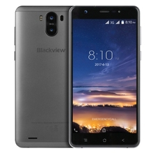 2017 [HK Stock] Blackview R6 Lite, Dual Back Cameras, 5.5 inch Android 7.0 MTK6580A Quad Core up to 1.3GHz, Network: 3G (Grey)